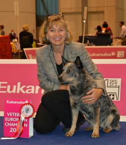 Naava gewinnt den European-Vet. Champion