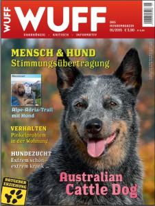 australian cattledog naava wuff titelblatt